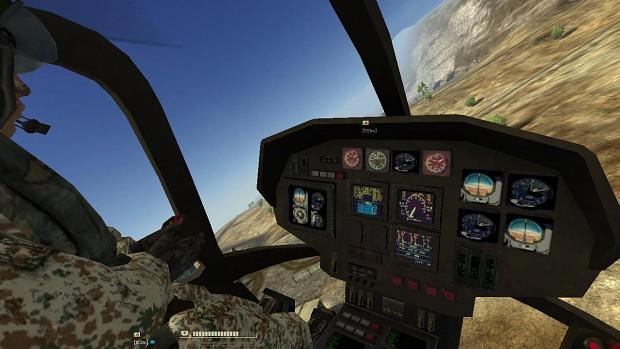 EC635 with improved cockpit design