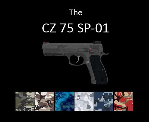 CZ 75 SP-01 pistol for multiplayer servers