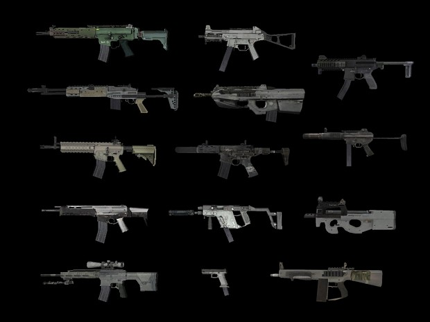 All 2017 weapons in one package - for multiplayer