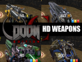 Quake Champions Doom HD Weapon Sprites