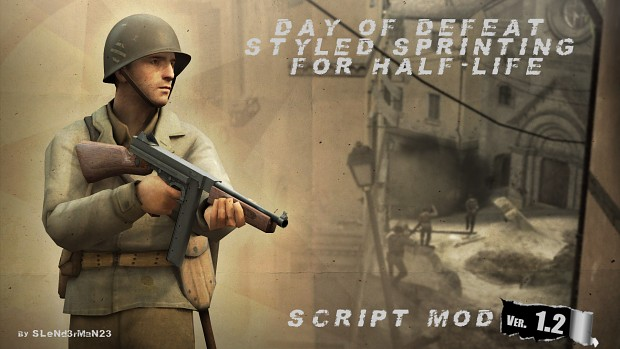 DoD Styled Sprinting for Half-Life (v1.2)