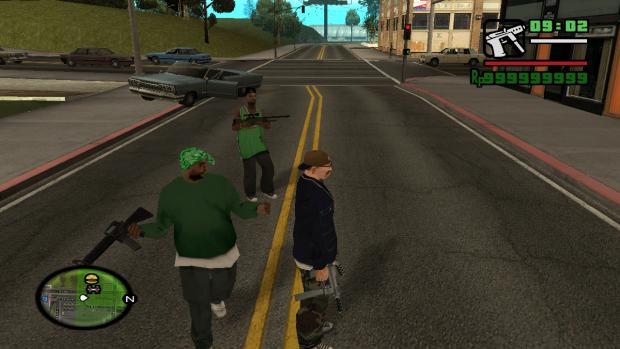 Ultimate GTA SA savegame