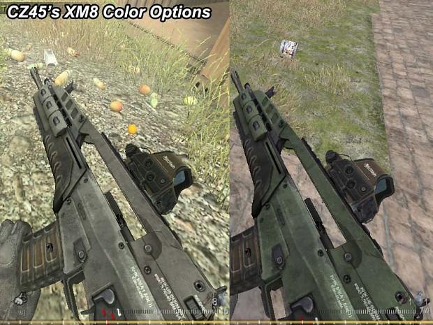 Custom XM8 Skin