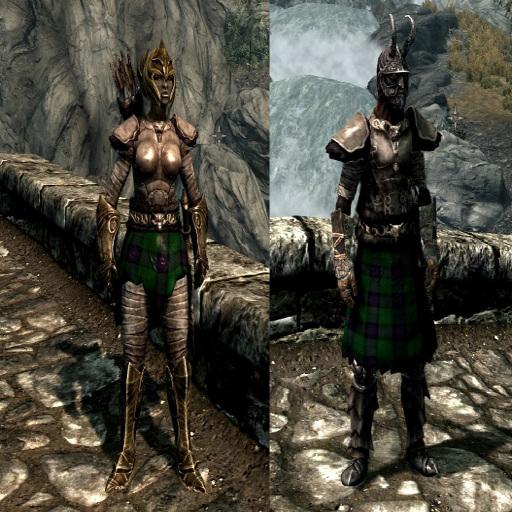 Clan Armstrong Tartan Companions Wolf Cuirass