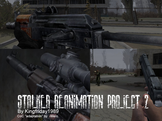 KF1989 Stalker-reanimation project 2 CoC Port 1.4