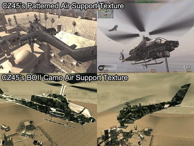 Custom Air Support Textures BOII