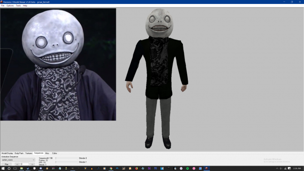 Yoko Taro Player model