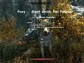Foxy - Giant Arctic Fox Follower - Special Edition