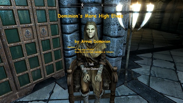 Dominion's More High Elves - Special Edition