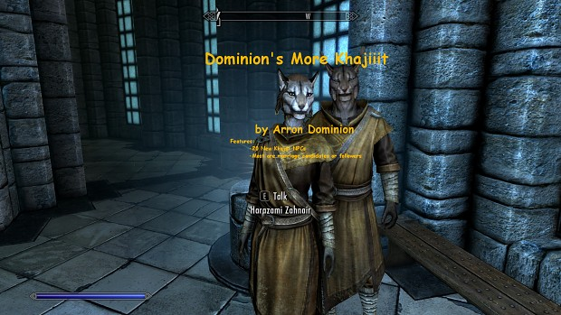 Dominion's More Khajiit - Special Edition