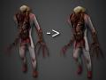 Restored Zombie model