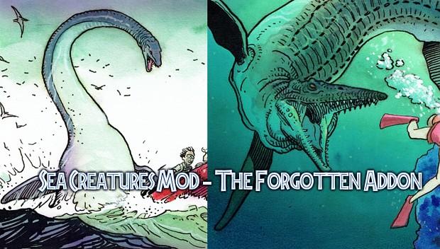 Sea Creatures Mod - The Forgotten Addon
