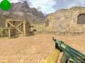 AK47 blue ice camo skin (cs 1.6)