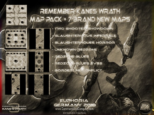 Remember Kanes Wrath Map Pack + 8 Maps