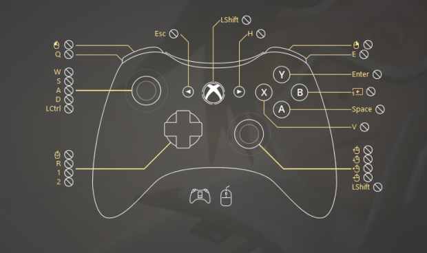 Custom Overwatch controller support preset