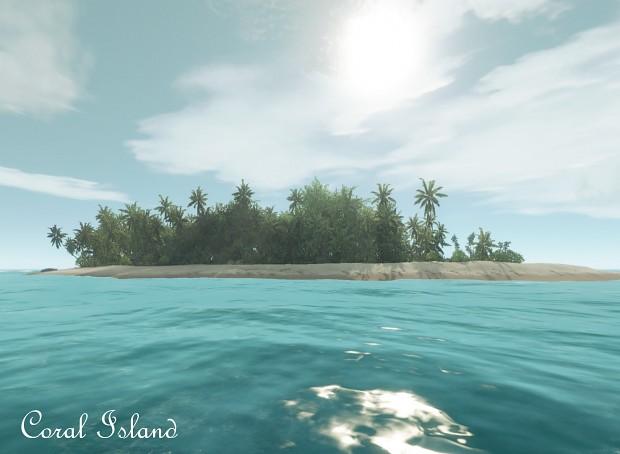 Coral Island setup package