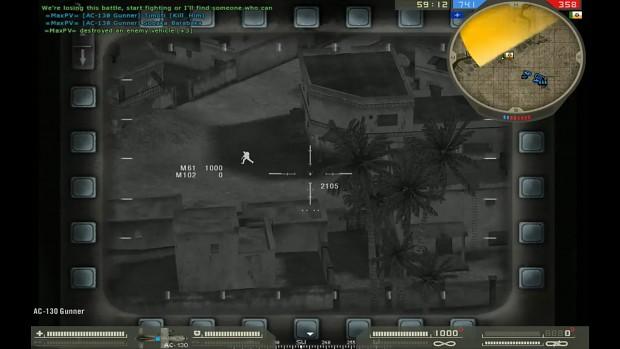 AC-130 Gunship config