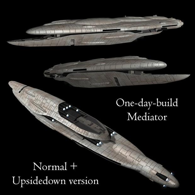 One day build: Mediator battlecruiser free release