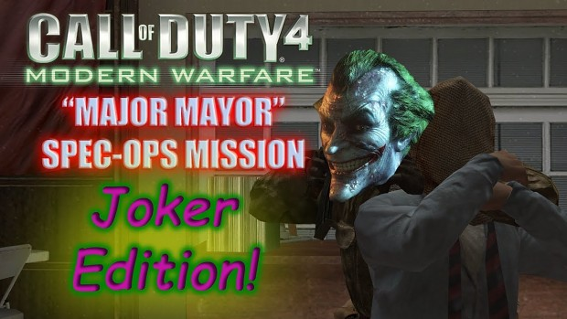 Major Mayor Joker Version