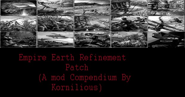 Empire Earth Refinement Patch