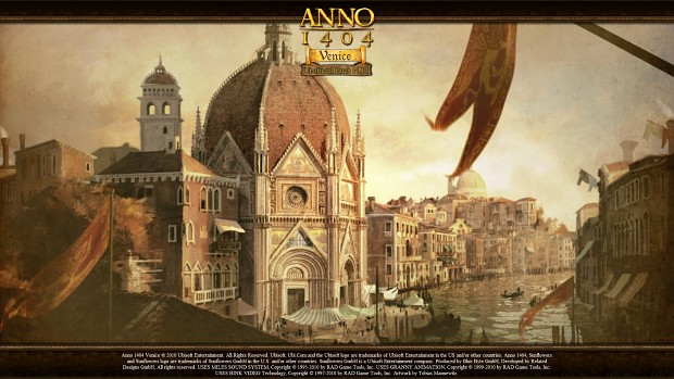 Anno 1404 - Venice - Unofficial Patch v1.10