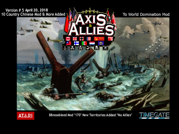 Axis & Allies RTS 10 Country Chinese Mod Version 5