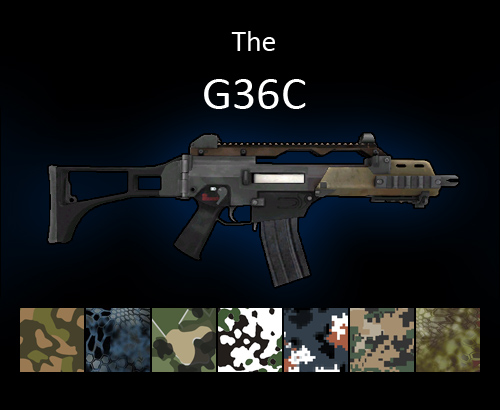 G36C assault rifle for multiplayer servers