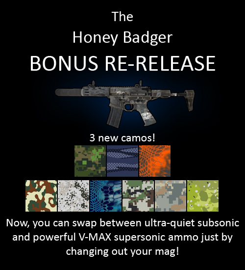 Honey Badger (UPDATED!) for multiplayer servers
