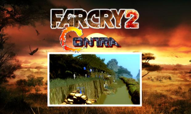 Far Cry 2 - Contra jungle level map