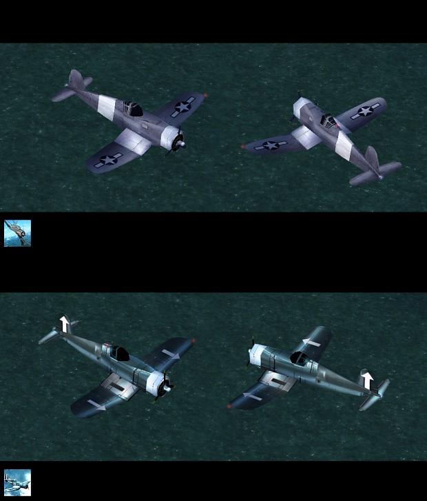 Fighter Corsair Skin Pack