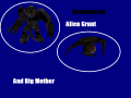 Reanimated Alien Grunt And Big Mother