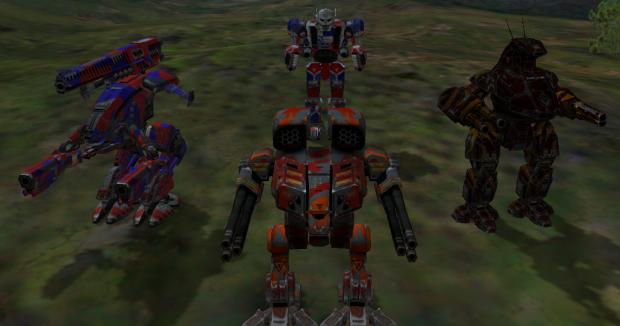 MW4 Mercenaries Vengeance Camouflage Pack
