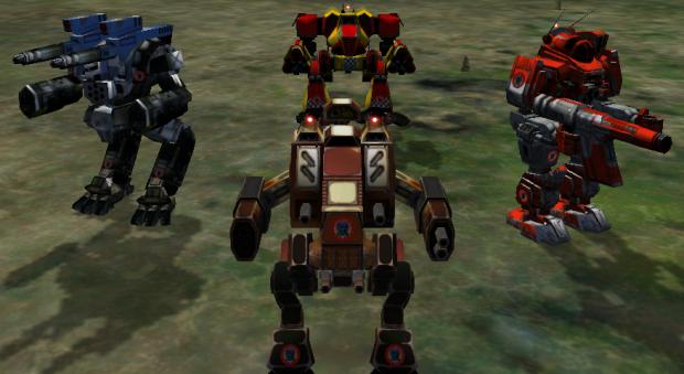 MW4 Mercenaries Original Camouflage Pack