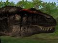 Higher quality Carcharodontosaurus model