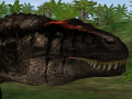 Better Carcharodontosaurus model