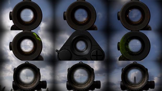 S.T.A.L.K.E.R. stalker crosshair textures resource
