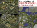 """Stuttgart USA HQ Skirmish - """"Mission GLA05"""" - 2vs3"""