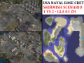 "USA NavHQ Matala Skirmish - ""Mission GLA03"" - 1vs2"