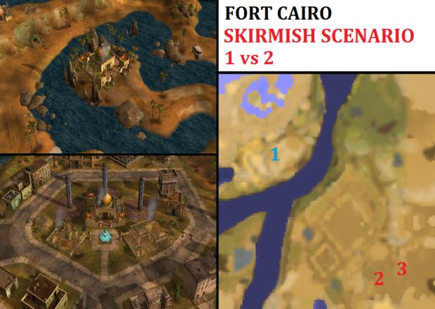 "GLA Cairo Kassad Skirmish - ""Mission GLA02"" - 1vs2"