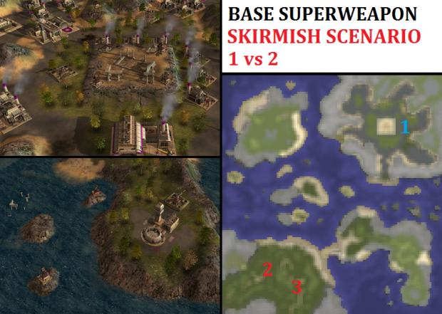 Superweapon Challenge Skirmish - 1vs2