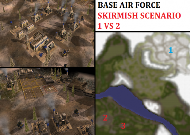 Air Force Challenge Skirmish - 1vs2
