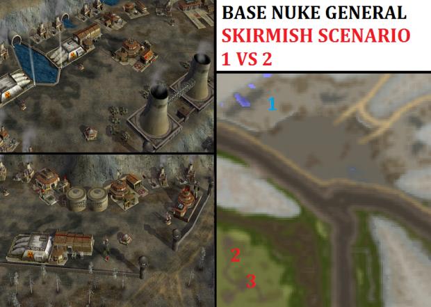 Nuke General Challenge Skirmish - 1vs2
