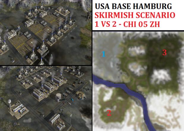 "USA Hamburg Skirmish - ""Mission CHI05"" - 1vs2"