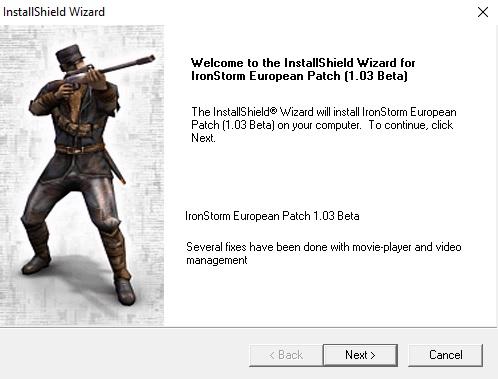 Iron Storm v1.03 Beta Official Patch (EU)