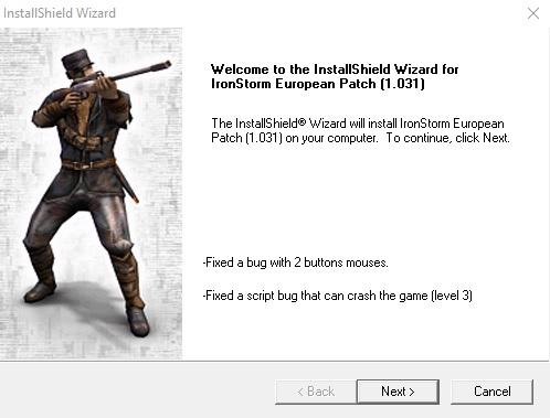 Iron Storm v1.031 Official Patch (EU)
