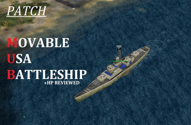 Movable USA Battleship - Patch