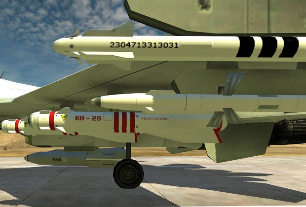 BF2 Missile textures MEC-China