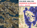 "USA Aral Sea Skirmish - ""Mission GLA05"" - 1vs2"