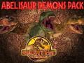 Abelisaur Demons Pack