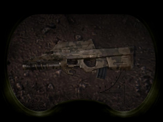 SoC Vanilla weapons with camouflage skins v1.1